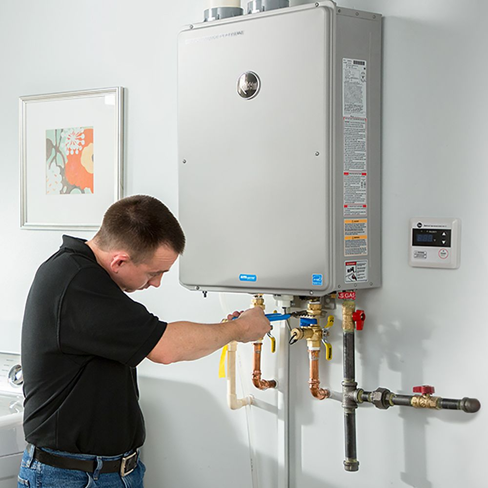 HOW TO INSTALL TANKLESS WATER HEATER